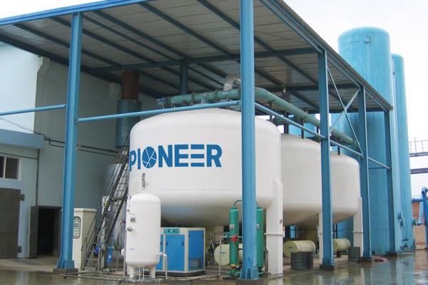 Vacuum pressure swing adsorption oxygen plant ( VPSA-O2
